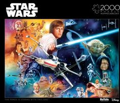 2000pc: Star Wars - The Force is Strong with This One Puzzle