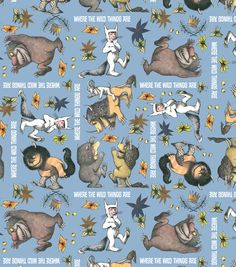 Licensed Cotton Fabric-Where the Wild Things Are Wild Stack at Joann.com