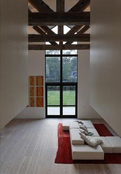 Family Room - modern - family room - new york - by d'apostrophe design, inc.