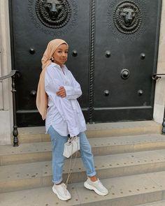 Modest Outfits Muslim, Modest Fashion Hijab, Street Hijab Fashion, Modesty Fashion, Hajib Fashion, Simply Fashion, Fashion Outfits, Stylish Hijab, Muslim Women Fashion
