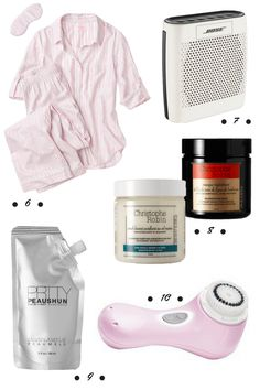 Defining Delphine Holiday Gift Guide 1 (2014): For the at-home spa girl