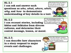 "Common Core Standards - Second Grade ""I Can"" Statements"