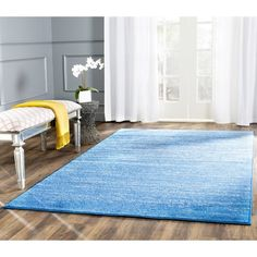 Found it at Wayfair - Fentress Blue Area Rug