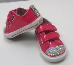 Hot Pink Converse All Stars size 2  4 sale    **contact me for pricing and custom orders**