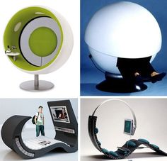 Can you imagine the near future, where enclosed lounge pods are available in public spaces: airports, hotels, waiting rooms, hospitals. These private seating areas would allow you to plug-in and log in any device, and like magic, you'll have access to all your files, music, contacts, internet, video and games. The future is closer than you think.