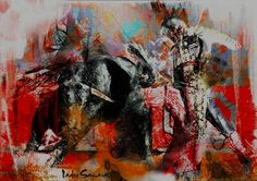 By Nader Samara #impressionnism #art #design #acrylic #painting #gallery #gallerie