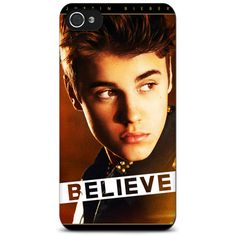 Justin Bieber Believe iPhone Case.