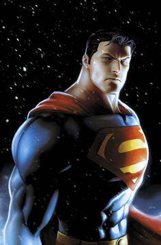 Superman snowfall by *JPRart on deviantART