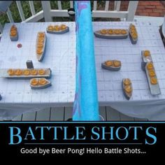 Battle shots  = project for my dad to make before this summer