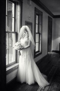 A beautiful bride in the rustic yet charming setting of our Windflower Spa.