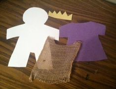 This David Was Called As King Bible Craft will help remind children that God sees our hearts and what we can become, not just what we are today. Bible Crafts For Kids, Preschool Activities, David Bible, King Craft, Kids Church Lessons, Godly Play, King David, Sunday School Crafts, Bible Lessons