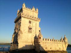 Torre de Belém Lisbon Map, Historical Sites, Tower Bridge, Notre Dame, Portugal, Travel, Towers, Viajes, Traveling