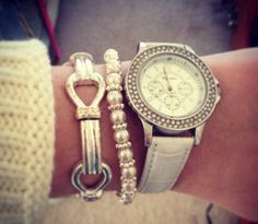 Bracelet and watch style
