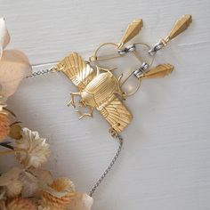 Art deco necklace/ Boho Necklace/ Statement by OwnStudiobyEfrat