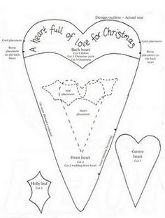 1000 images about heart s coloring on pinterest heart for Heart template for sewing