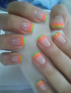 Love these colors ♥sassy nails♥