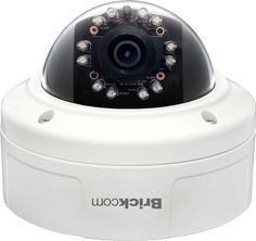 Vandal Proof 5 Megapixel Day & Night Network Dome Camera VD-501Af - auctionsecuritycameras.com
