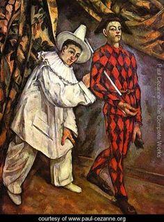 Mardi Gras - Paul Cezanne - www.paul-cezanne.org