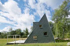 Triangular Villa - Picture gallery
