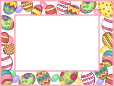 easter graphics   Free Easter Egg Frame Graphic - Transparent PNG files and Paint Shop ...