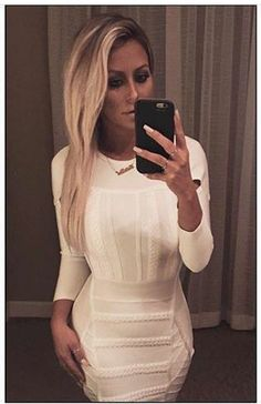 Cesarai dress on Aubrey Oday (danity kane)