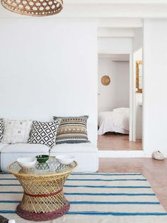 A MEDITERRANEAN BEACHSIDE HOME IN ALICANTE, SPAIN | THE STYLE FILES