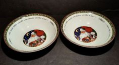 Portmeirion A Christmas Story Vegetable Serving Bowls Lot Of 2 Santa Claus | Pottery & Glass, Pottery & China, China & Dinnerware | eBay!