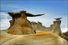 Bisti Badlands, New Mexico.