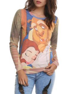 Disney Beauty And The Beast Girls Pullover  http://www.hottopic.com/hottopic/SchoolStuff/Outerwear/Sweatshirts/Disney+Beauty+And+The+Beast+Girls+Pullover-10035499.jsp