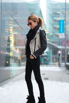Isabel Marant Boots, Primark Jacket | Follow... (by Magdalena Knitter) | LOOKBOOK.nu