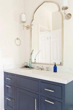 San Francisco Home Remodel - Megan Bachmann Interiors hale navy vanity