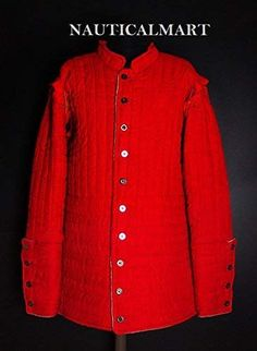 Medieval  padded Aketon shirt under Gambeson Costumes dress armor sca larp gear