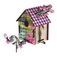 Deko-Vogelhaus Romantic Resort, 29,90€, jetzt auf Fab.
