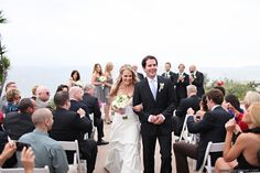 Casa Romantica wedding recessional   #DJTodd #Casaromanticawedding