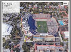 Stadium legend Gator Game, Tim Tebow, Florida, Pictures, Travel, Photos, Viajes, The Florida, Photo Illustration