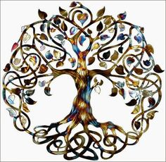 Infinity Tree Tree of Life Metal Wall Art Metal Tree Art Family Tree Mothers Day Gift Wedding Gift House Warming Gift Tattoo Life, Tatoo Art, Tree Of Life Tattoos, Celtic Tree Tattoos, Spiritual Symbols, Celtic Symbols, Celtic Art, Tibetan Symbols, Spiritual Meaning