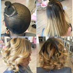 quick weave Bob   Quick weaves are a great way to try out different looks and play with color before making the big steps with your own…