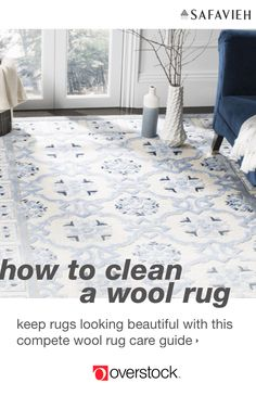 Find everything you need to give your home an instant upgrade at Overstock.com. This guide will help you keep your beautiful rugs looking like new. Learn how to properly maintain your wool rugs with our expert tips on wool rug care.