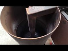 HOMEMADE WASTE OIL HEATER MORE DETAIL - YouTube Waste Oil Burner, Rocket Heater, Oil Heater, Oil Burners, Oil Stove, Cleaning, Homemade, Make It Yourself, Detail