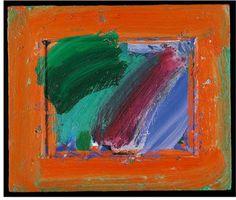"confront: ""Howard Hodgkin, After the Shop had Closed, 1992 "" Patrick Heron, English Artists, British Artists, Howard Hodgkin, Creative Studio, Ancient Art, Printmaking, Abstract Art, Sculpture"