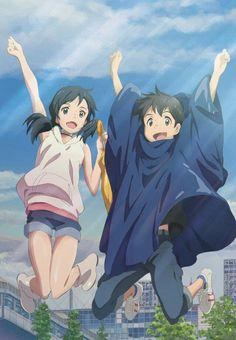 Weathering with you. Tenki no ko Wallpaper Animes, Anime Scenery Wallpaper, Animes Wallpapers, Film Manga, Anime Films, Anime Characters, Ange Anime, Anime Angel, Thicc Anime