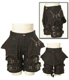 I don't like the spiderweb motif but I do like the straps and crosses.  Bodyline