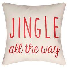 Jingle Throw Pillow - Surya