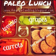 Paleo lunch idea