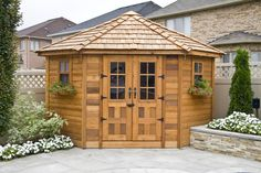 Outdoor Living Today 9ft. W x 9ft. D Wood Garden Shed & Reviews | Wayfair