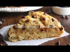 Tender scones with the same almond, coconut & chocolate flavors as the candy bar. But they're much healthier with no refined sugar or artificial ingredients!
