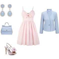 """Cool Summer - pastel inspiration 2"" by adriana-cizikova on Polyvore"