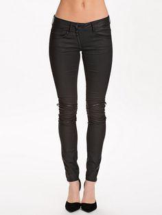Lynn Custom Zip Mid Skinny 91775E - G - Star - Rinse - Jeans - Clothing - Women - Nelly.com