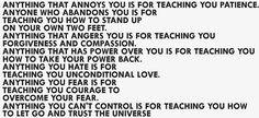 Feelings teach you.