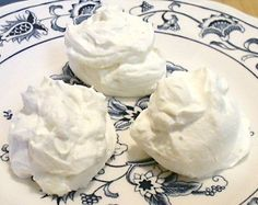 ✓ CREAM CHEESE CLOUDS* (Makes 24, 1g Net Carb per): Beat 8 oz softened CREAM CHEESE, ½ c softened unsalted BUTTER, ½-¾ c granular Splenda and ½ tsp VANILLA or other flavoring w/ an electric mixer until fluffy. Drop by bite-size spoonfuls onto a wax paper-lined baking sheet. Freeze until firm, at least 1 hr. Store in the freezer and eat frozen.
